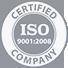 ISO 9001:2008 Certfied Company
